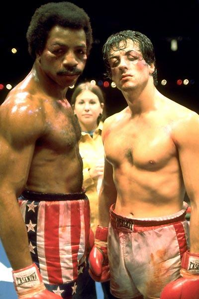 Rocky mit Sylvester Stallone
