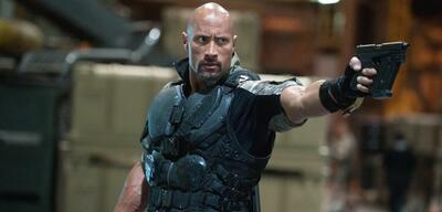 Dwayne Johnson als Roadblock in G.I. Joe: Die Abrechnung