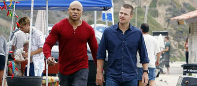 LL Cool J und Chris O'Donnell in Navy CIS: L.A.
