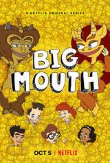 Big Mouth - Staffel 2 - Poster