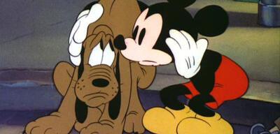 Disneys Pluto und Micky Maus