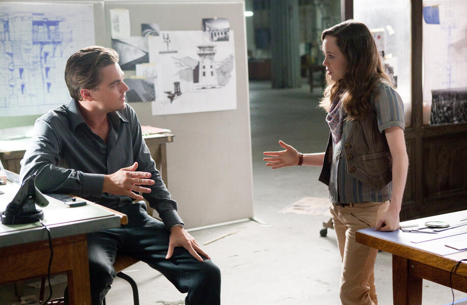 Inception mit Ellen Page