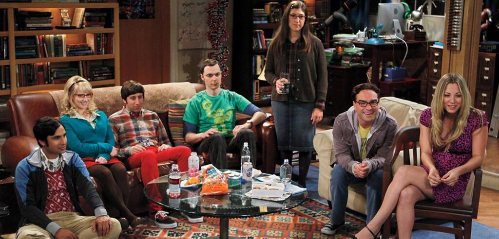 The Big Bang Theory: Sheldon und Co. schauen fern