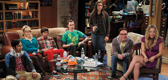 The Big Bang Theory: Sheldon und Co. schauen fern
