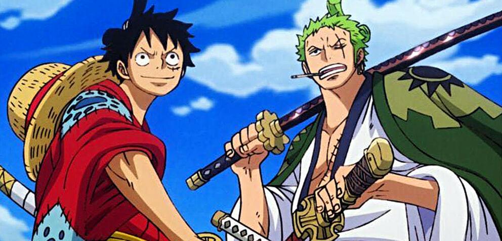 Ruffy und Zorro in One Piece