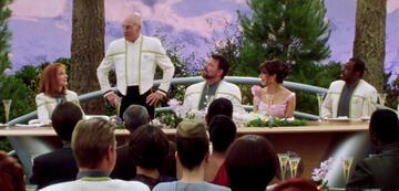 Die Hochzeit von Riker und Troi