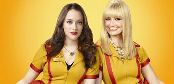 Bild zu:  Kat Dennings & Beth Behrs in 2 Broke Girls