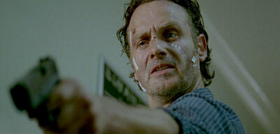 Andrew Lincolns in The Walking Dead