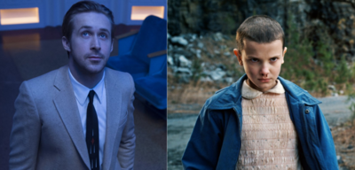 Ryan Gosling und Millie Bobby Brown