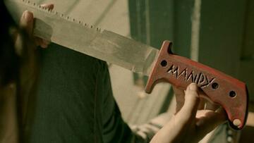 Die rote Machete in The Walking Dead