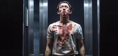 Steven Yeun überlebt auch Mayhem