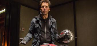 Ja, nun, also ... Ant-Man mein Name. Paul Rudd will sich erklären