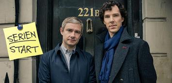 Bild zu:  Sherlock, Staffel 4