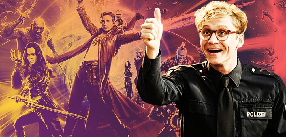 Matthias Schweighöfer ist ganz nah dran an den Guardians of the Galaxy