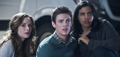 Oh Schreck! Dr. Snow, Barry und Cisco in The Flash