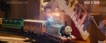 Thomas wird zum Action-Vehikel