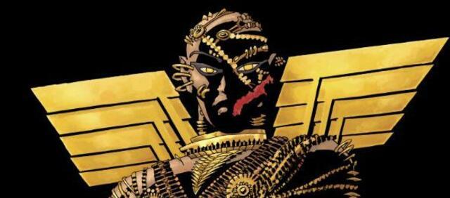 Das erste Bild zum Xerxes Comic