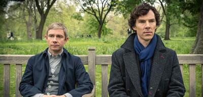 Dr. Watson und Sherlock Holmes