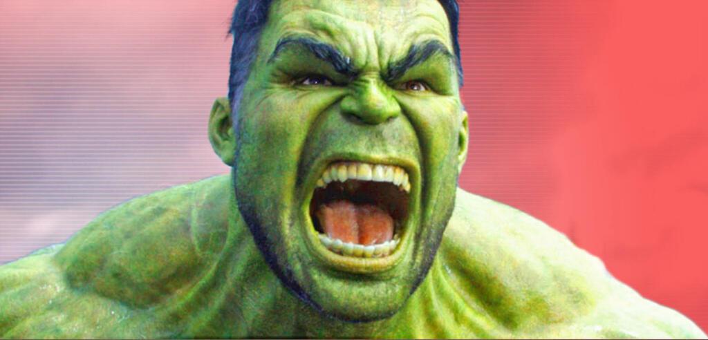 Hulk in all seiner grünen Pracht