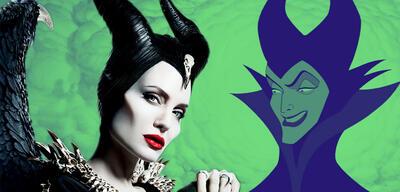 Maleficent: Mächte der Finsternis und Dornröschen im Vergleich