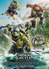 Teenage Mutant Ninja Turtles 2 - Poster