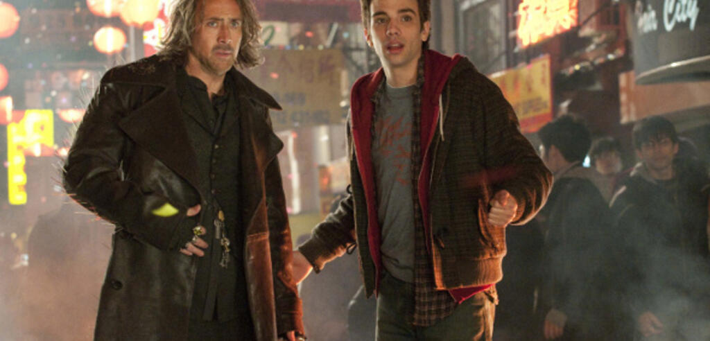 Nicolas Cage bildet Jay Baruchel aus.