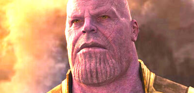 Thanos in Avengers 3: Infinity War