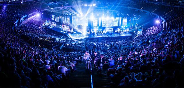 eSport-Event der Electronic Sports League