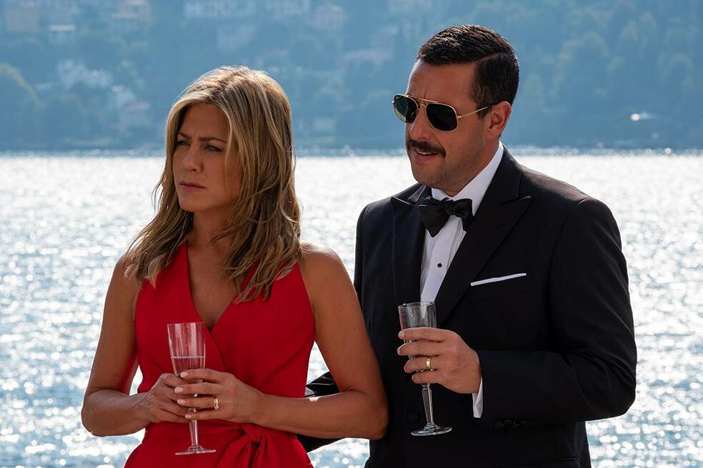 Murder Mystery mit Adam Sandler und Jennifer Aniston