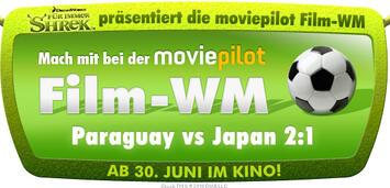 Bild zu:  Shrek präsentiert Film-WM Paraguay vs Japan