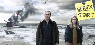 Stephen Dillane und Clémence Poésy in The Tunnel: Sabotage