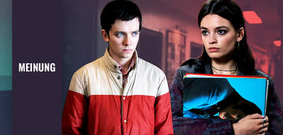 Sex Education mit Asa Butterfield und Emma Mackey
