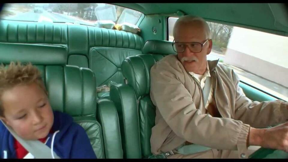 Jackass Presents: Bad Grandpa mit Johnny Knoxville und Jackson Nicoll