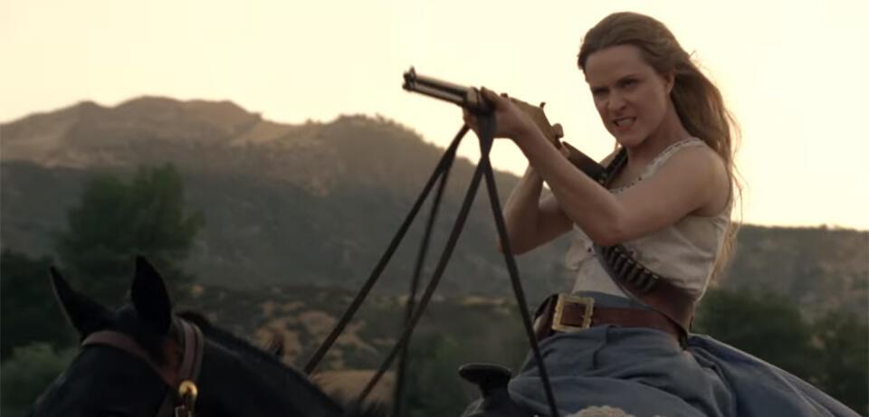 Westworld mitEvan Rachel Wood