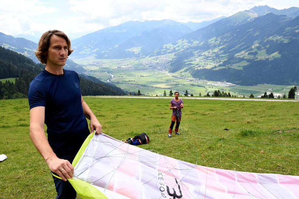Team Alpin Drehort
