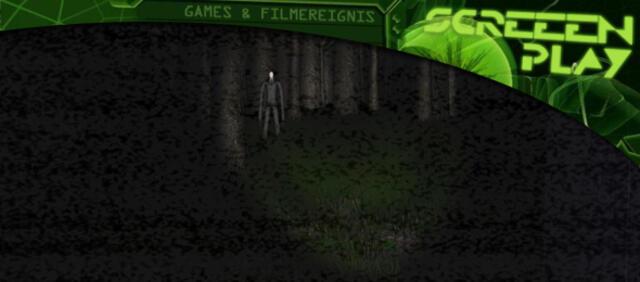Slender Man - Always watches, no eyes