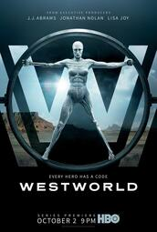 Westworld Staffel 1 - Poster