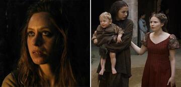 In Game of Thrones und The Witcher: Jodhi May und Rebecca Benson