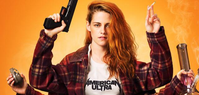 Wohl nicht das Cannes-Outfit: Kristen Stewart in American Ultra