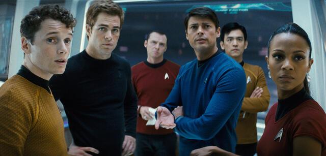 Die neue Crew der Enterprise ist überrascht