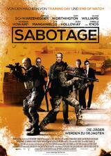 Sabotage - Poster
