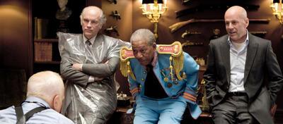 Das Rentnerdasein von Bruce Willis und Co. wird auch in R.E.D. 2 nicht langweilig.