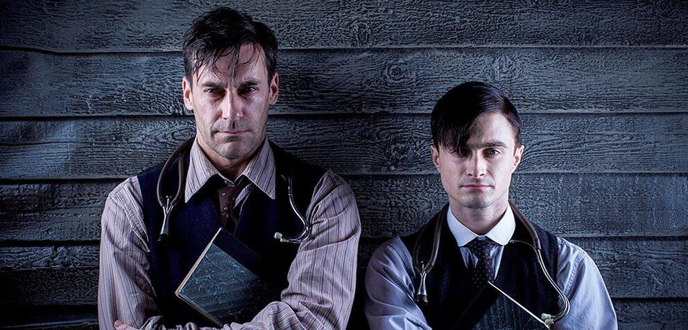 A Young Doctor's Notebook:Jon Hamm und Daniel Radcliffe sind zwei Hälften eines Arztes