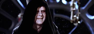 Ian McDiarmid als Imperator Palpatine in Star Wars: Episode 6