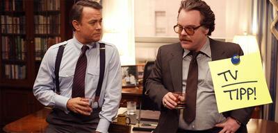 Tom Hanks und Philip Seymour Hoffman in Der Krieg des Charlie Wilson