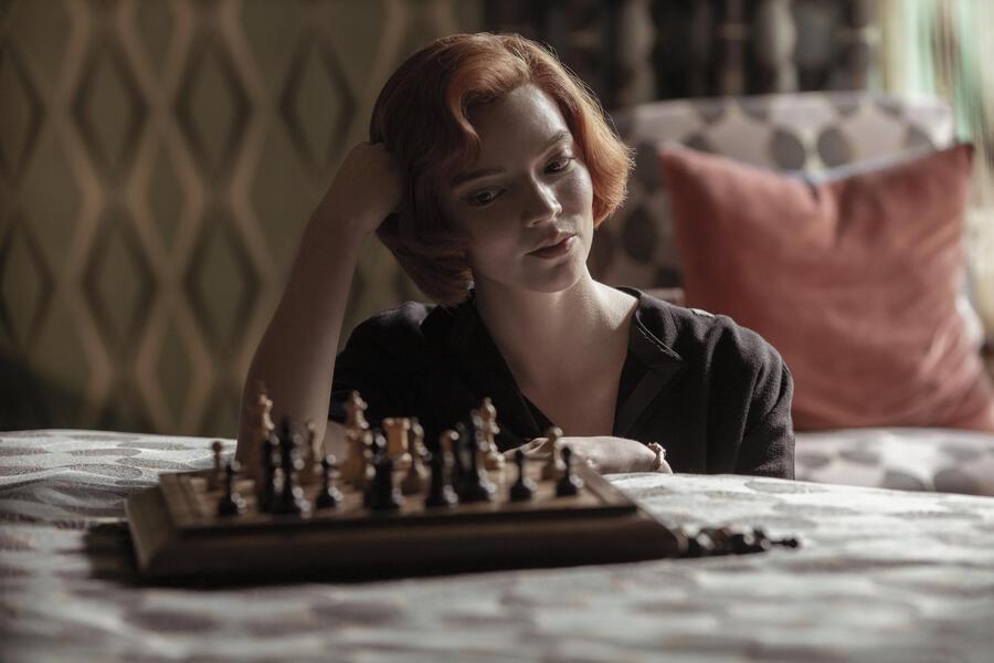 Das Damengambit, Das Damengambit - Staffel 1 mit Anya Taylor-Joy