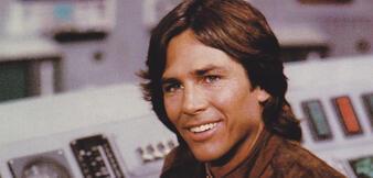 Richard Hatch in Kampfstern Galactica