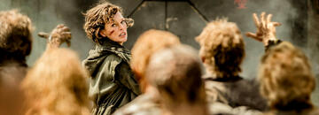 Alice (Milla Jovovich) in Resident Evil: The Final Chapter