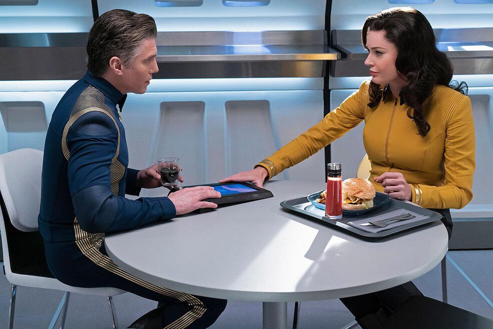 Star Trek: Discovery - Staffel 2 mit Rebecca Romijn und Anson Mount