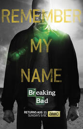 Breaking Bad Staffel 5 - Poster